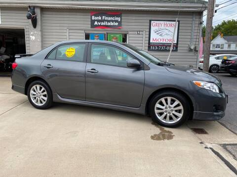 2010 Toyota Corolla for sale at Grey Horse Motors in Hamilton OH