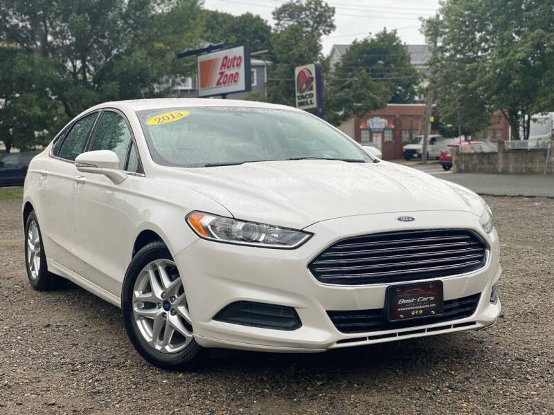 2013 Ford Fusion for sale at Best Cars Auto Sales in Everett MA