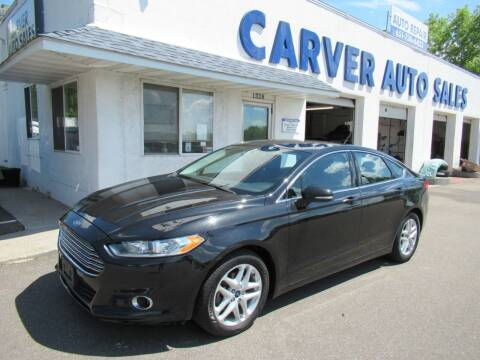 2014 Ford Fusion for sale at Carver Auto Sales in Saint Paul MN