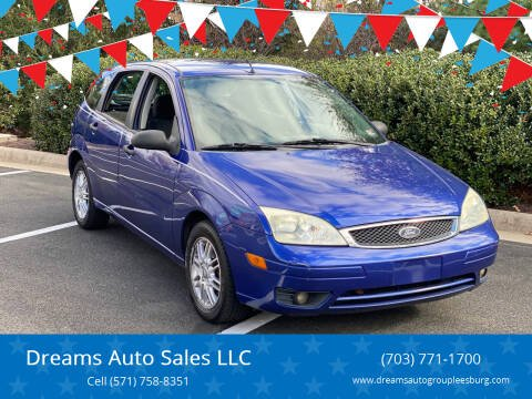 2005 Ford Focus for sale at Dreams Auto Sales LLC in Leesburg VA
