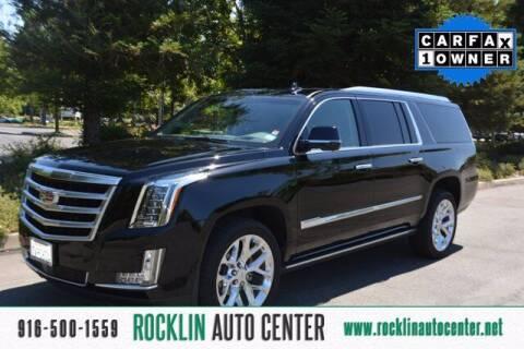 2016 Cadillac Escalade ESV for sale at Rocklin Auto Center in Rocklin CA