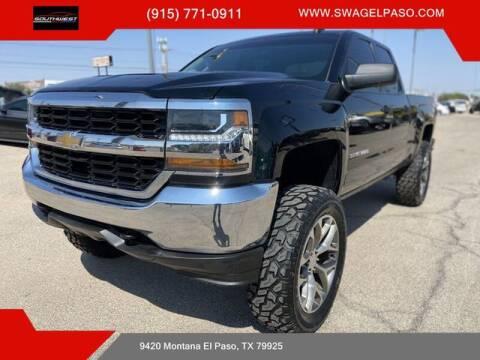 2018 Chevrolet Silverado 1500 for sale at SOUTHWEST AUTO GROUP-EL PASO in El Paso TX