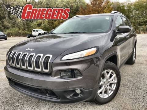2017 Jeep Cherokee for sale at GRIEGER'S MOTOR SALES CHRYSLER DODGE JEEP RAM in Valparaiso IN