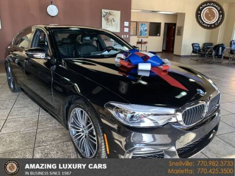 2018 BMW 5 Series for sale at Amazing Luxury Cars in Snellville GA
