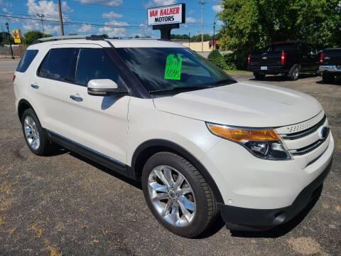 2011 Ford Explorer for sale at Van Kalker Motors in Grand Rapids MI