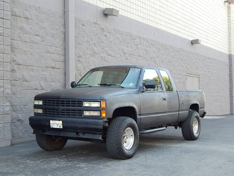 1992 Chevrolet C/K 1500 Series for sale at Gilroy Motorsports in Gilroy CA