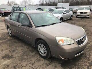 2007 Chevrolet Malibu for sale at WELLER BUDGET LOT in Grand Rapids MI