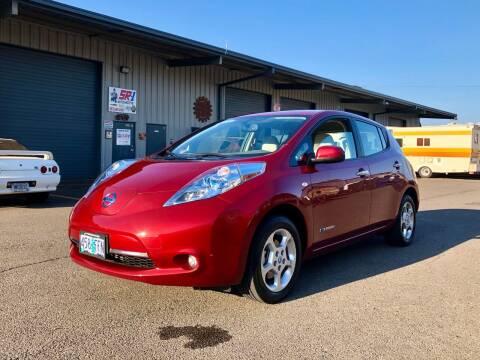 2011 Nissan LEAF for sale at DASH AUTO SALES LLC in Salem OR
