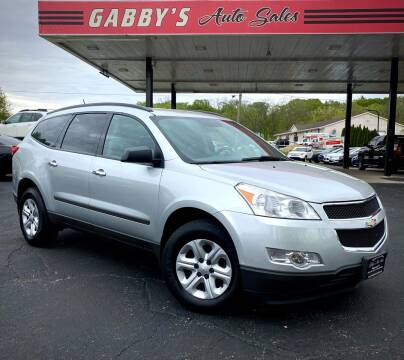 2011 Chevrolet Traverse for sale at GABBY'S AUTO SALES in Valparaiso IN
