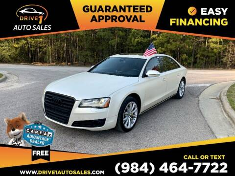 2013 Audi A8 L for sale at Drive 1 Auto Sales in Wake Forest NC