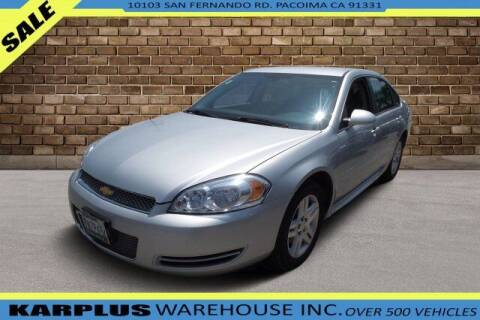 2016 Chevrolet Impala Limited for sale at Karplus Warehouse in Pacoima CA