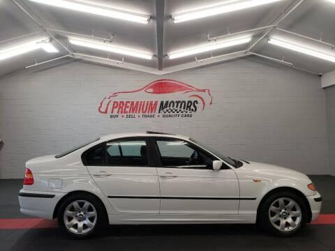 2002 BMW 3 Series for sale at Premium Motors in Villa Park IL