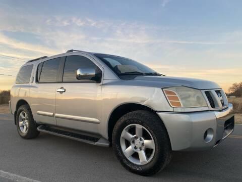 2004 Nissan Armada for sale at ILUVCHEAPCARS.COM in Tulsa OK