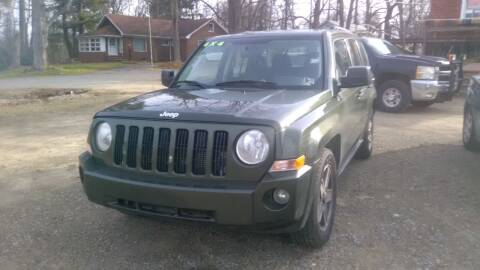 2009 Jeep Patriot for sale at Seneca Motors, Inc. (Seneca PA) - MEADVILLE, PA LOCATION in Conneaut Lake PA