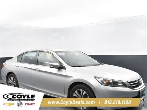 2015 Honda Accord for sale at COYLE GM - COYLE NISSAN - New Inventory in Clarksville IN