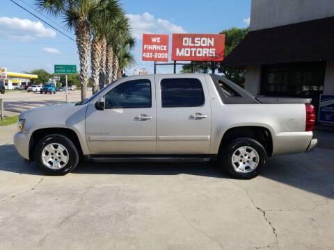 2008 Chevrolet Avalanche for sale at Olson Motors LLC in Saint Augustine FL