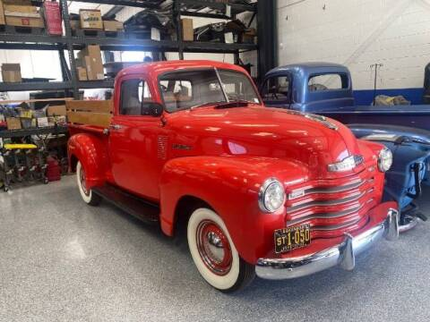 1952 Chevrolet 3100 for sale at Classic Car Deals in Cadillac MI