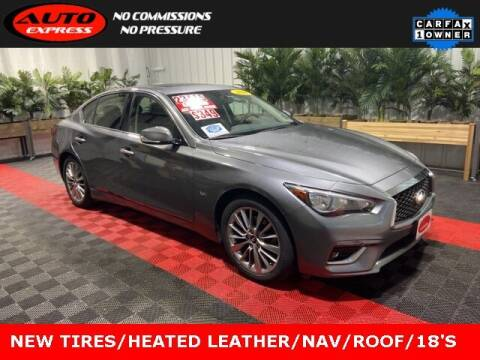 2018 Infiniti Q50 for sale at Auto Express in Lafayette IN