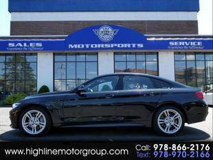 2018 BMW 4 Series for sale at Highline Group Motorsports in Lowell MA