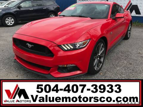 2015 Ford Mustang for sale at Value Motors Company in Marrero LA