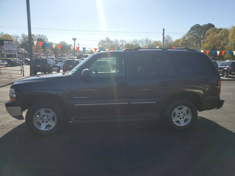 2003 Chevrolet Tahoe for sale at A-1 Auto Sales in Anderson SC