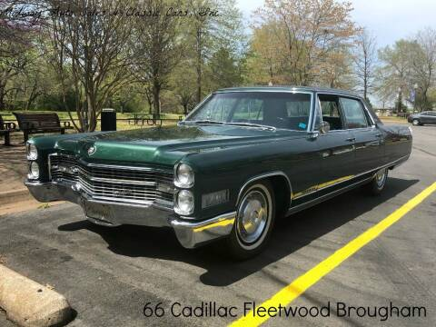 1966 Cadillac Fleetwood Brougham for sale at MIDWAY AUTO SALES & CLASSIC CARS INC in Fort Smith AR