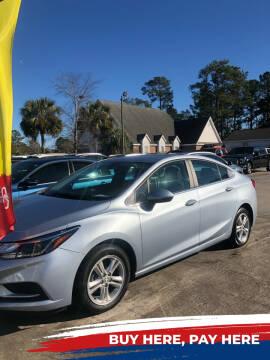 2017 Chevrolet Cruze for sale at Gralin Hampton Auto Sales in Summerville SC