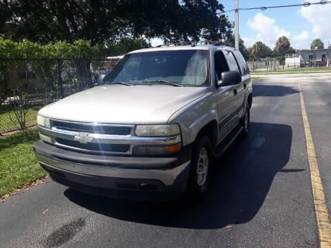 2005 Chevrolet Tahoe for sale at LAND & SEA BROKERS INC in Deerfield FL