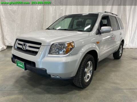 2008 Honda Pilot for sale at Green Light Auto Sales LLC in Bethany CT