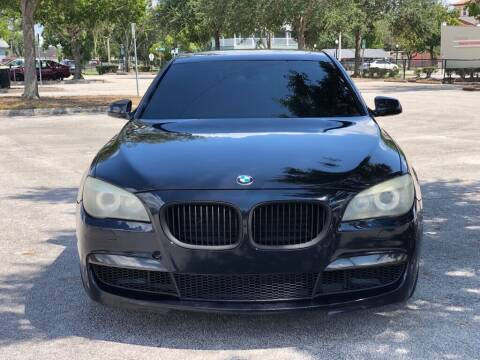 2012 BMW 7 Series for sale at Carlando in Lakeland FL