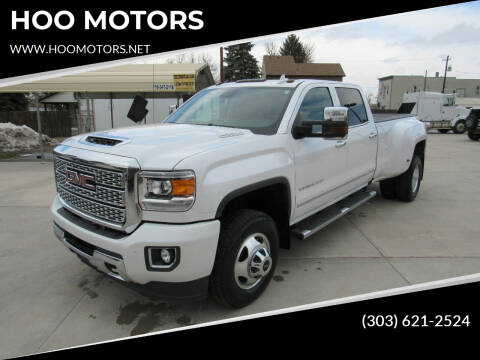 2019 GMC Sierra 3500HD for sale at HOO MOTORS in Kiowa CO