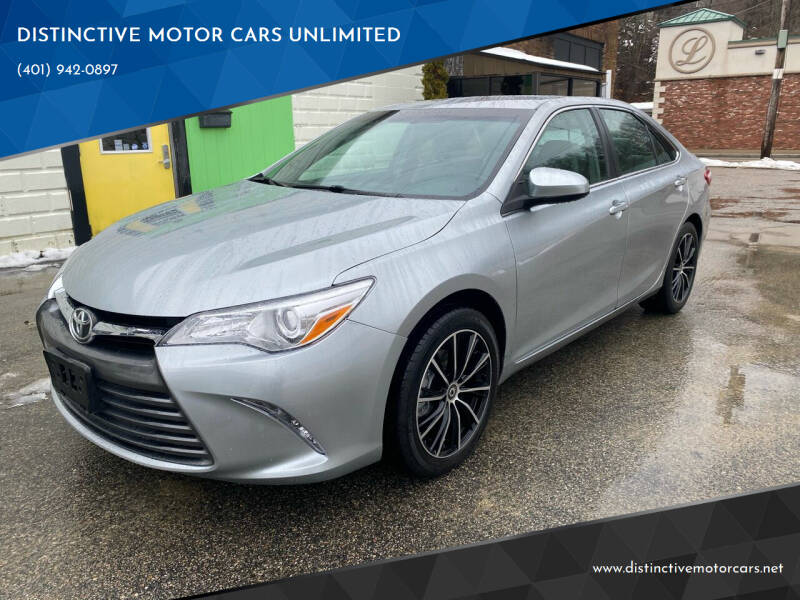 2016 Toyota Camry for sale at DISTINCTIVE MOTOR CARS UNLIMITED in Johnston RI