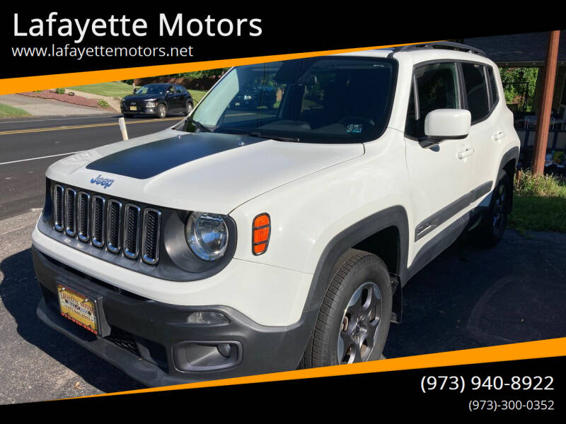 2015 Jeep Renegade for sale at Lafayette Motors in Lafayette NJ