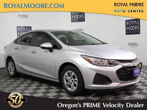 2019 Chevrolet Cruze for sale at Royal Moore Custom Finance in Hillsboro OR