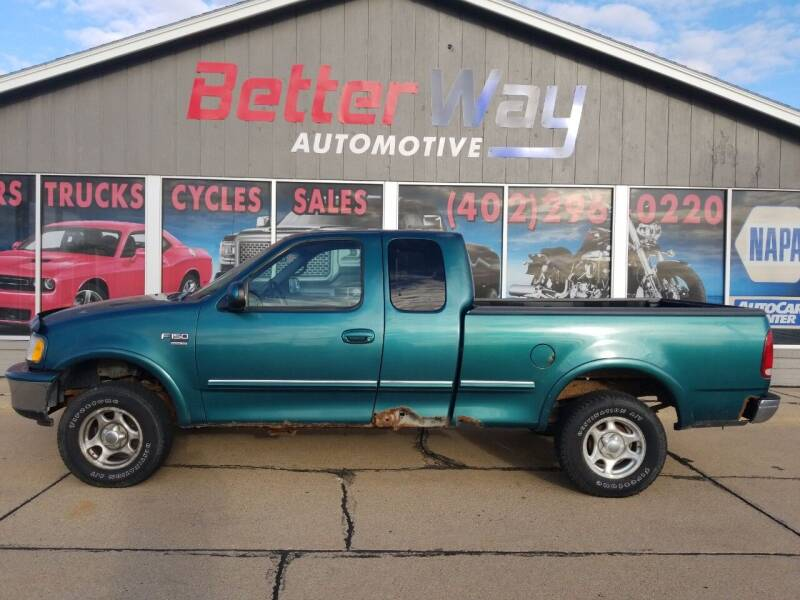 1998 Ford F-150 for sale at Betterway Automotive Inc in Plattsmouth NE