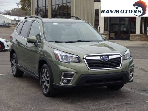 2019 Subaru Forester for sale at RAVMOTORS 2 in Crystal MN