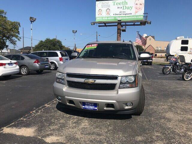 2008 Chevrolet Tahoe for sale at EAGLE AUTO SALES in Lindale TX