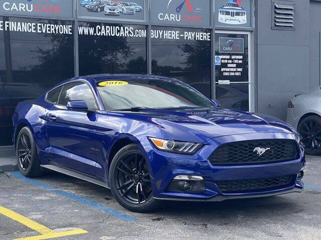 2016 Ford Mustang for sale at CARUCARS LLC in Miami FL