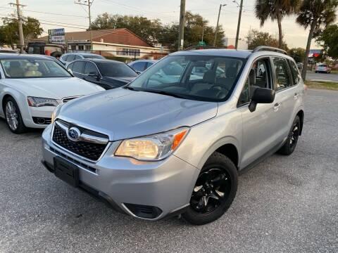 2014 Subaru Forester for sale at CHECK  AUTO INC. in Tampa FL