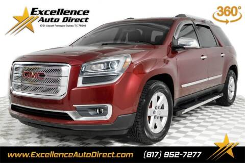 2016 GMC Acadia for sale at Excellence Auto Direct in Euless TX