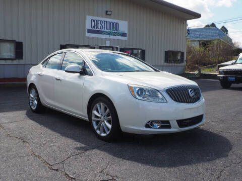 2012 Buick Verano for sale at Crestwood Auto Sales in Swansea MA