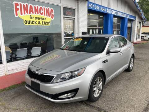 2013 Kia Optima for sale at AutoMotion Sales in Franklin OH