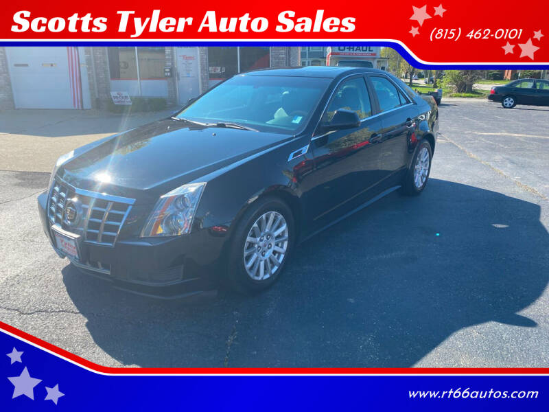 2013 Cadillac CTS for sale at Scotts Tyler Auto Sales in Wilmington IL