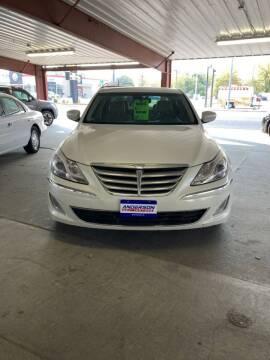 2013 Hyundai Genesis for sale at Anderson Motors in Scottsbluff NE