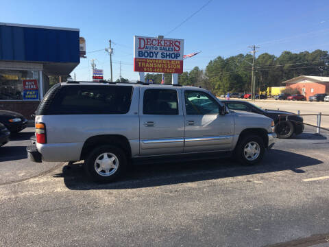 2004 GMC Yukon XL for sale at Deckers Auto Sales Inc in Fayetteville NC