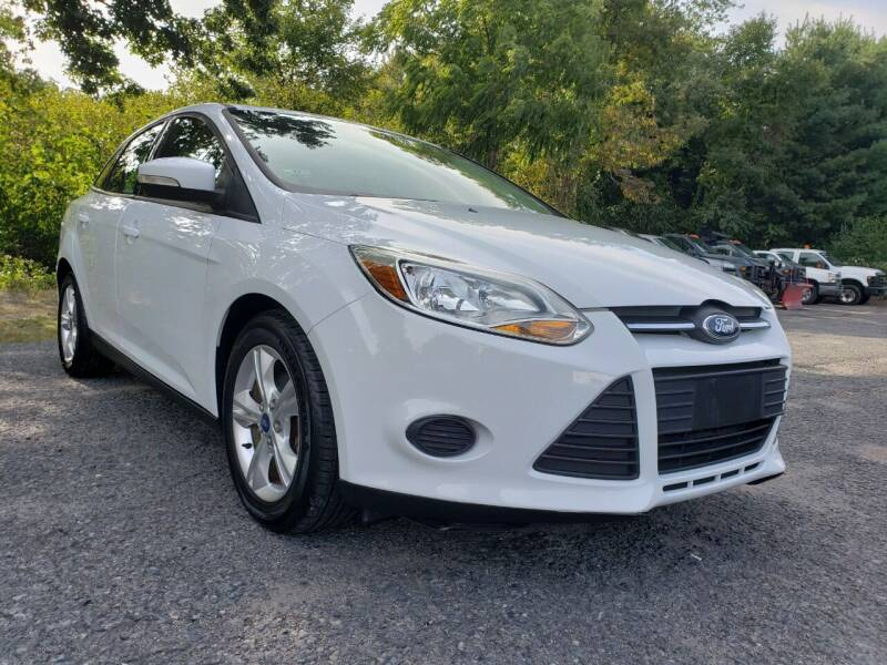 2013 Ford Focus for sale at Jacob's Auto Sales Inc in West Bridgewater MA