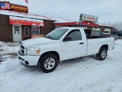 2008 Dodge Ram Pickup 1500 for sale at Rum River Auto Sales in Cambridge MN