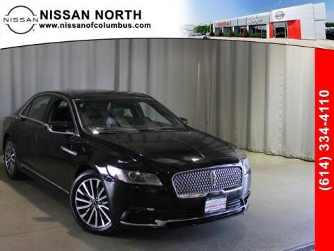 2019 Lincoln Continental for sale at Auto Center of Columbus in Columbus OH