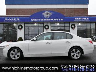 2006 BMW 5 Series for sale at Highline Group Motorsports in Lowell MA