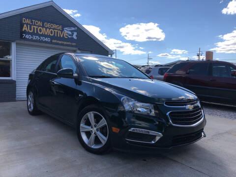 2015 Chevrolet Cruze for sale at Dalton George Automotive in Marietta OH